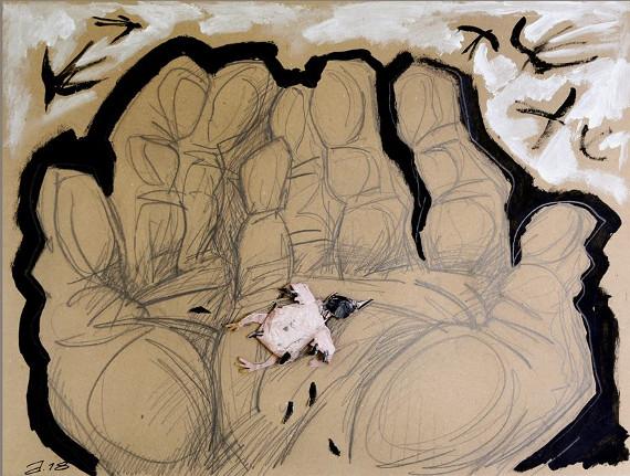 Выставка Сергей Баранов Котлован По повести Андрея Платонова в Омском областном музее изобразительных искусств имени М. А. Врубеля