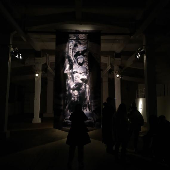 Экскурсия по проекту Свобода. 1919. 2020 в мастерской Елизаветы Коноваловой ЦТИ Фабрика