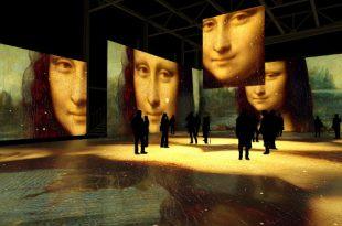 Мультимедиа спектакль «Леонардо да Винчи. Тайна гения».