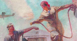 Выставка Соцреализм Большая стройка Приморская картинная галерея Владивосток