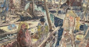 Выставка Константин Кузнецов Париж Бретань Нормандия Третьяковская галерея