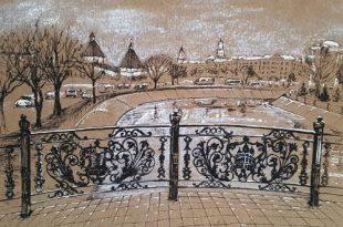 Выставка Анна Бабышева Акварельные зарисовки МКЦ Дом купца Г.В. Тетюшинова Астрахань