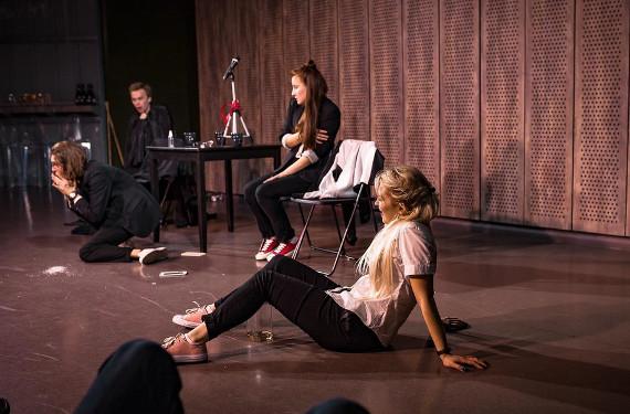 Спектакль Самый счастливый день в моей жизни в Центре современного искусства МАРС