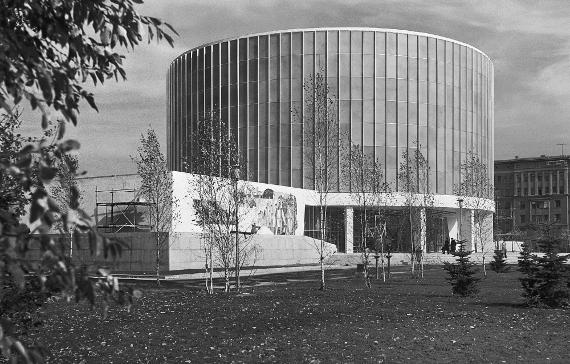Наум Грановский «Музей-панорама «Бородинская битва» 1960-е. Предоставлено: Центр фотографии имени братьев Люмьер.