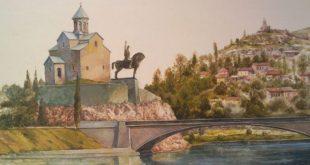 Выставка Наталия Флоренская Мой Тбилиси Галерея Тотибадзе Totibadze Gallery Винзавод