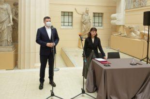 Почта России и Государственный музей изобразительных искусств имени А.С. Пушкина подписали соглашение о сотрудничестве.