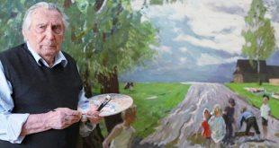 Выставка произведений выпускников мастерской В.М. Сидорова.