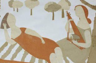 Выставка Соня Меламуд Из бумаги Галерея Измайлово