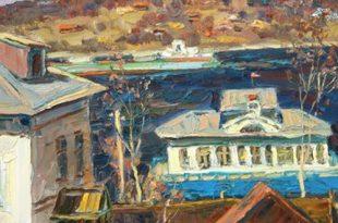 Выставка Живопись 2021 Ярославль ВЗ Московский союз художников на Кузнецком мосту 20