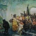 """8. Якоби Валерий """"Ледяной дом"""" 1878 Холст, масло 133,5х216 Государственный Русский музей"""
