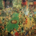 """13. Якулов Георгий """"Монте-Карло"""" 1913 Картон, масло 53,3х75,5 Национальная галерея Армении, Ереван"""