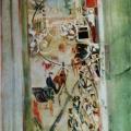 """33. Якулов Георгий """"Тверская"""" Картон, масло 110х81,5 Национальная галерея Армении, Ереван"""
