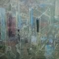 """34. Якулов Георгий """"Кафе"""" Бумага, акварель, цветной карандаш, белила 22,7х30,5 Национальная галерея Армении, Ереван"""