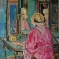 """42. Якулов Георгий """"Перед зеркалом"""" 1920 Картон, масло 110х81 Национальная галерея Армении, Ереван"""