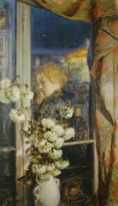 "Якунчикова М., ""Отражение интимного мира"", 1894 год"