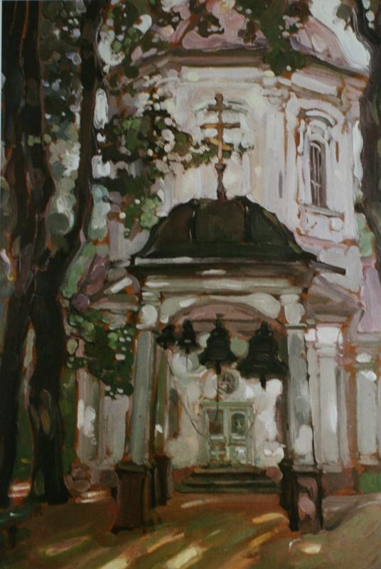 """Якунчикова М. В., """"Церковь в старой усадьбе. Черемушки близ Москвы"""""""
