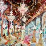 """Фабио Бьянко """"Versailles. The Hall of Mirrors and the Sun King"""" 2019. Предоставлено: Музей искусства Санкт-Петербурга XX-XXI веков."""