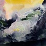 """Алла Елфимова """"Солярис"""" 2011. Предоставлено: Галерея """"Открытый Клуб""""."""