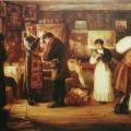 """32. Журавлев Фирс """"Благословение"""" 1901 Холст, масло 49,5х68 Рыбинский музей-заповедник"""