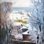 """С.В. Герасимов """"Зимка"""" 1946. Предоставлено: Астраханская картинная галерея имени П.М. Догадина."""